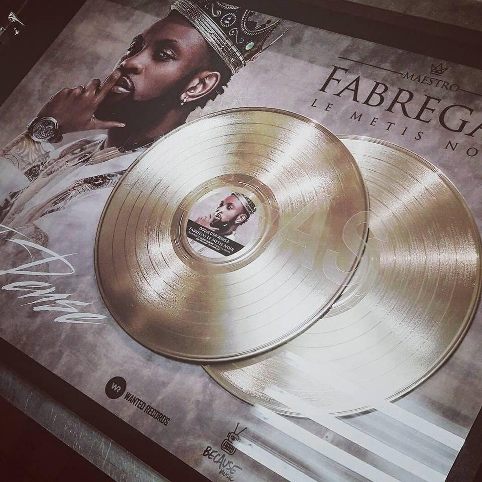 Musique fabregas sacr double disque d or avec je for Bassin a poison