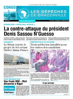 Les Dépêches de Brazzaville : Édition brazzaville du 05 février 2016