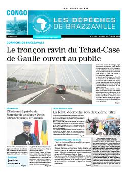 Les Dépêches de Brazzaville : Édition brazzaville du 08 février 2016