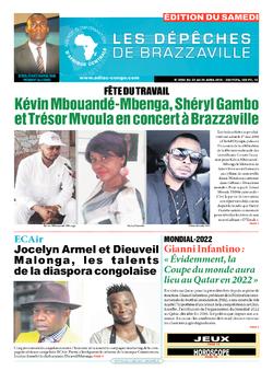 Les Dépêches de Brazzaville : Édition du 6e jour du 23 avril 2016