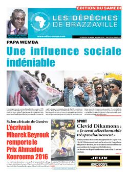 Les Dépêches de Brazzaville : Édition du 6e jour du 30 avril 2016