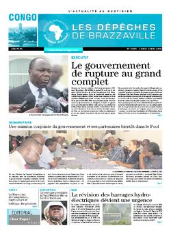 Les Dépêches de Brazzaville : Édition brazzaville du 02 mai 2016