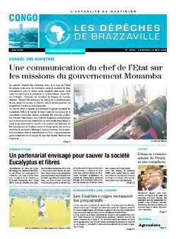 Les Dépêches de Brazzaville : Édition brazzaville du 06 mai 2016