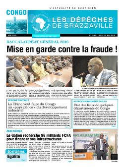 Les Dépêches de Brazzaville : Édition brazzaville du 30 mai 2016