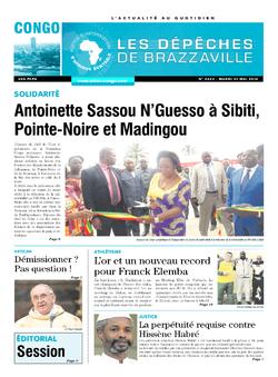 Les Dépêches de Brazzaville : Édition brazzaville du 31 mai 2016