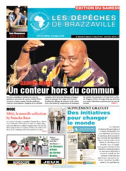 Les Dépêches de Brazzaville : Édition du 6e jour du 25 juin 2016