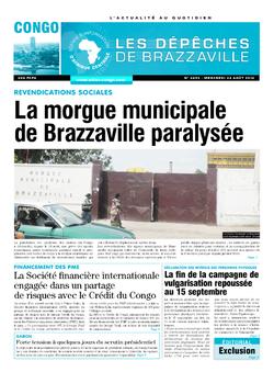 Les Dépêches de Brazzaville : Édition brazzaville du 24 août 2016