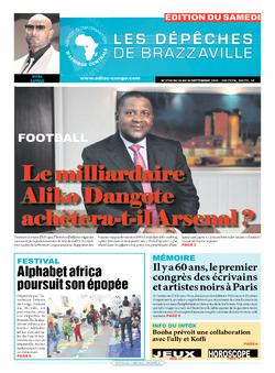 Les Dépêches de Brazzaville : Édition du 6e jour du 24 septembre 2016