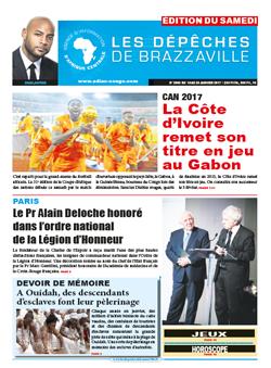 Les Dépêches de Brazzaville : Édition du 6e jour du 14 janvier 2017