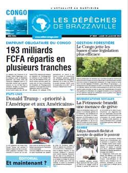 Les Dépêches de Brazzaville : Édition brazzaville du 23 janvier 2017