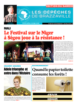 Les Dépêches de Brazzaville : Édition du 6e jour du 18 février 2017