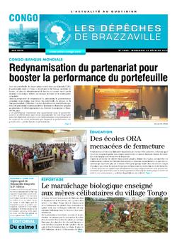 Les Dépêches de Brazzaville : Édition brazzaville du 22 février 2017