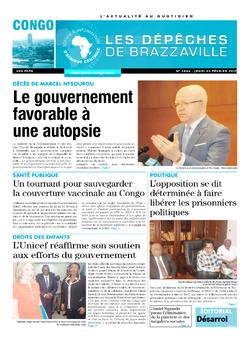 Les Dépêches de Brazzaville : Édition brazzaville du 23 février 2017