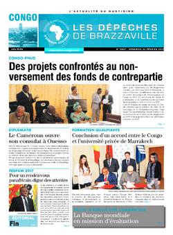 Les Dépêches de Brazzaville : Édition brazzaville du 24 février 2017
