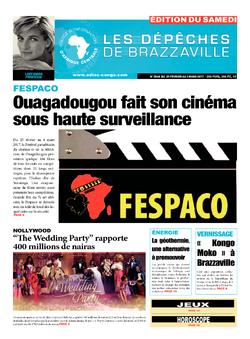 Les Dépêches de Brazzaville : Édition du 6e jour du 25 février 2017