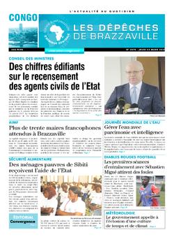 Les Dépêches de Brazzaville : Édition brazzaville du 23 mars 2017