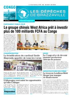 Les Dépêches de Brazzaville : Édition brazzaville du 24 mars 2017