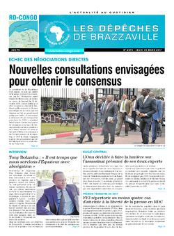 Les Dépêches de Brazzaville : Édition kinshasa du 30 mars 2017