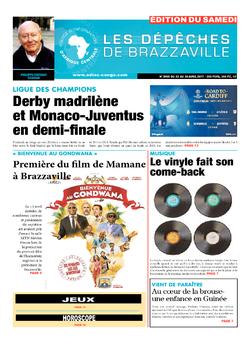 Les Dépêches de Brazzaville : Édition du 6e jour du 22 avril 2017