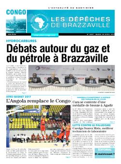 Les Dépêches de Brazzaville : Édition brazzaville du 25 avril 2017