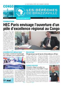 Les Dépêches de Brazzaville : Édition brazzaville du 28 avril 2017