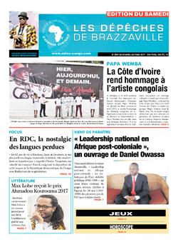 Les Dépêches de Brazzaville : Édition du 6e jour du 29 avril 2017