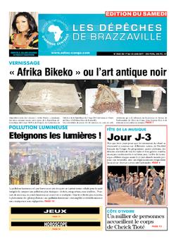 Les Dépêches de Brazzaville : Édition du 6e jour du 17 juin 2017