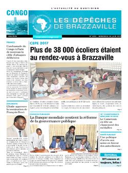Les Dépêches de Brazzaville : Édition brazzaville du 28 juin 2017