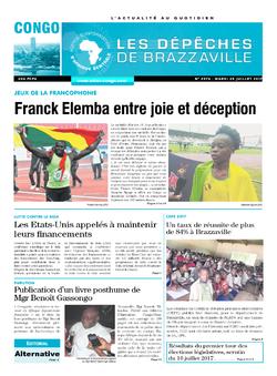 Les Dépêches de Brazzaville : Édition brazzaville du 25 juillet 2017