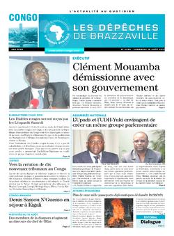 Les Dépêches de Brazzaville : Édition brazzaville du 18 août 2017