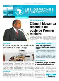 Les Dépêches de Brazzaville : Édition brazzaville du 22 août 2017