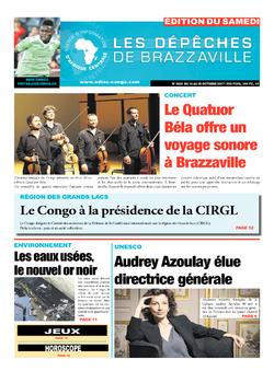 Les Dépêches de Brazzaville : Édition du 6e jour du 14 octobre 2017