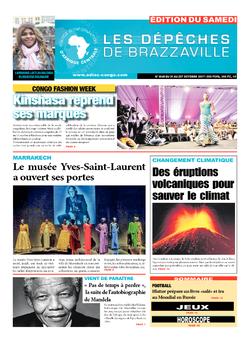 Les Dépêches de Brazzaville : Édition du 6e jour du 21 octobre 2017