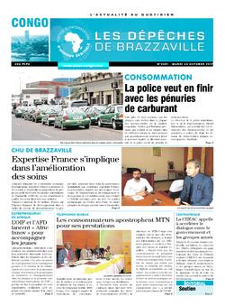 Les Dépêches de Brazzaville : Édition brazzaville du 24 octobre 2017