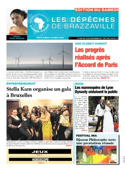 Les Dépêches de Brazzaville : Édition du 6e jour du 16 décembre 2017