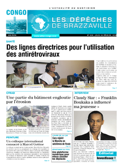 Les Dépêches de Brazzaville : Édition brazzaville du 22 février 2018