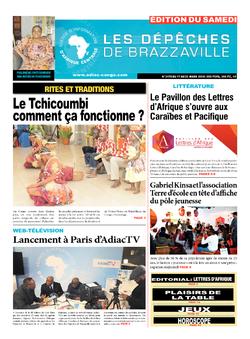 Les Dépêches de Brazzaville : Édition du 6e jour du 17 mars 2018