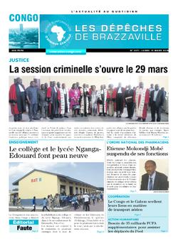Les Dépêches de Brazzaville : Édition brazzaville du 19 mars 2018