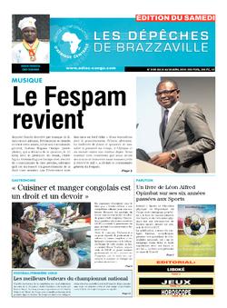Les Dépêches de Brazzaville : Édition du 6e jour du 21 avril 2018