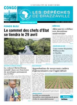 Les Dépêches de Brazzaville : Édition brazzaville du 23 avril 2018