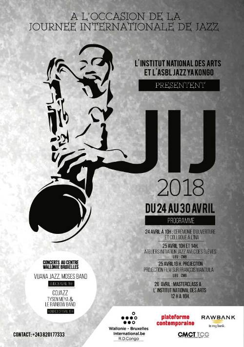 Célébration de la Journée internationale du jazz 2018 à Kinshasa