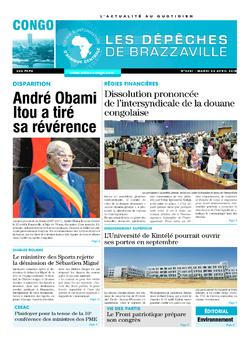 Les Dépêches de Brazzaville : Édition brazzaville du 24 avril 2018