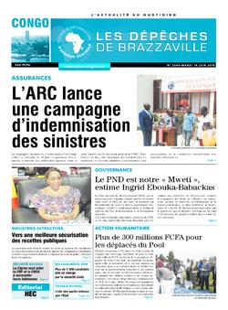 Les Dépêches de Brazzaville : Édition brazzaville du 19 juin 2018
