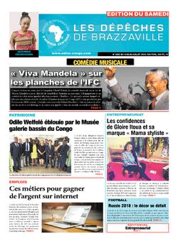 Les Dépêches de Brazzaville : Édition du 6e jour du 14 juillet 2018