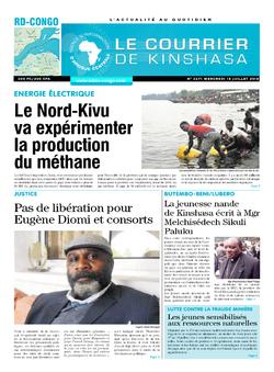 Les Dépêches de Brazzaville : Édition le courrier de kinshasa du 18 juillet 2018