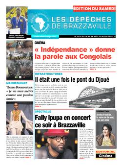 Les Dépêches de Brazzaville : Édition du 6e jour du 18 août 2018