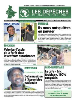 Les Dépêches de Brazzaville : Édition du 6e jour du 19 janvier 2019