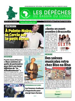 Les Dépêches de Brazzaville : Édition du 6e jour du 16 février 2019