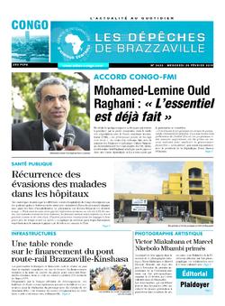 Les Dépêches de Brazzaville : Édition brazzaville du 20 février 2019