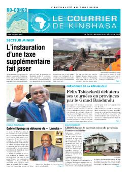 Les Dépêches de Brazzaville : Édition le courrier de kinshasa du 20 février 2019